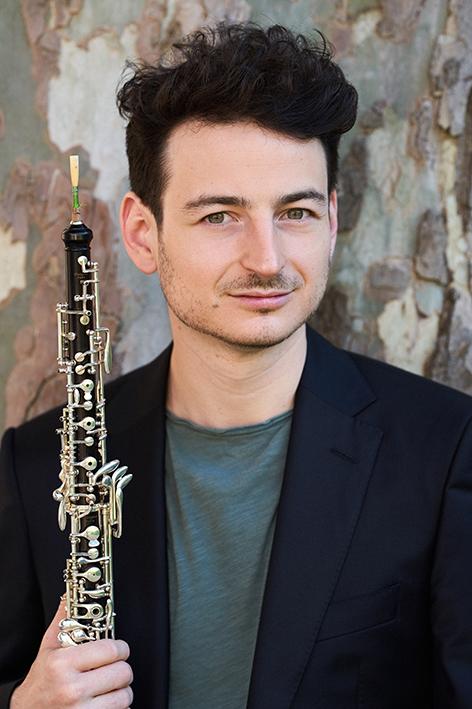 Olivier Stankiewicz ja klarinetti.